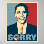 Obama Sorry Poster