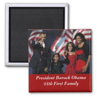 Obama Souvenir Square Magnet