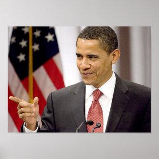 Obama Speaking Poster