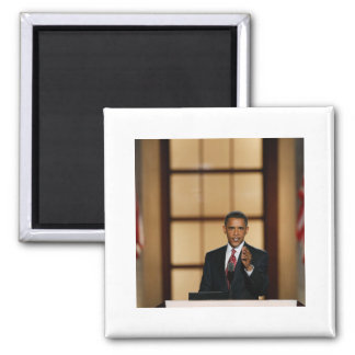 Obama-Speech 2 Inch Square Magnet