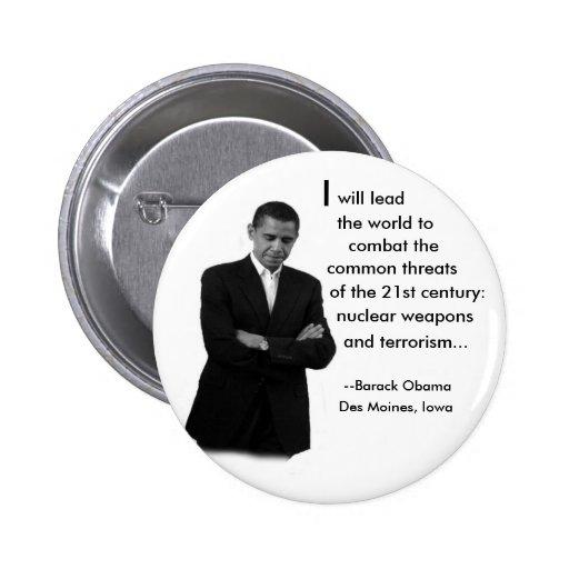 Obama Speech Button