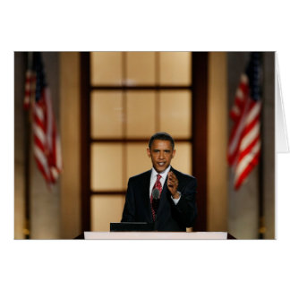 Obama-Speech Card