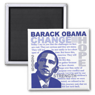 Obama Speech Magnet