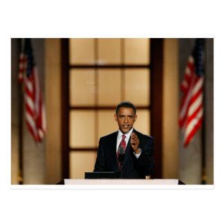 Obama-Speech Postcard