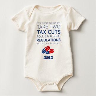 Obama Speech: Take Two Tax Cuts Baby Bodysuit