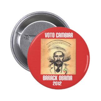 Obama: Spirit of Zapata Button