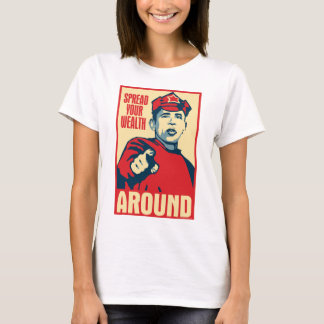 Obama - Spread Your Wealth Around: OHP Ladies Top