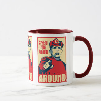 Obama - Spread Your Wealth Around: OHP Mug