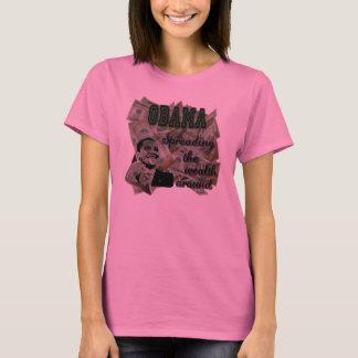 Obama Spreading the Wealth Around Womens Shirt