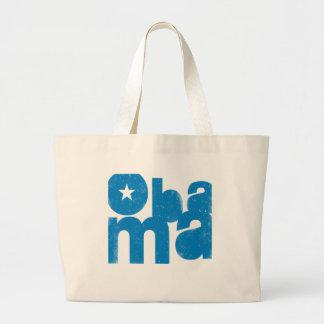 Obama Square Tote Jumbo Tote Bag