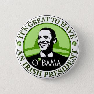 Obama St. Patrick's Day Button