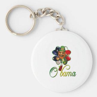 Obama St. Patrick's Day Spirit Key Chains