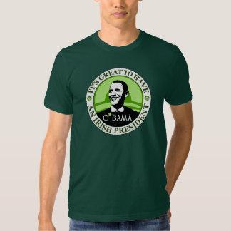 Obama St. Patrick's Day T Shirt