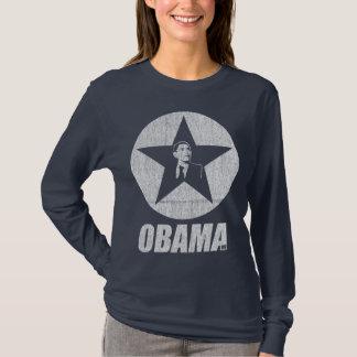 Obama Star Navy T-Shirt