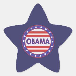 OBAMA Star Star Sticker