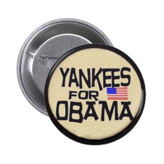 Obama Stars & Stripes Button