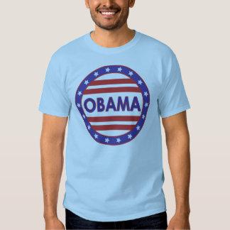 Obama Stars&Stripes Circle T-shirt