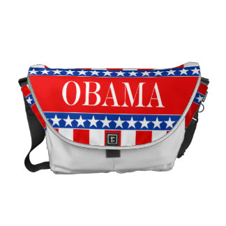 Obama Stars & Stripes Courier Bag