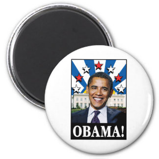 Obama Stars & Stripes Magnet