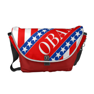 Obama Stars & Stripes Messenger Bag