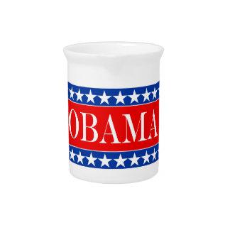 Obama Stars & Stripes Pitcher