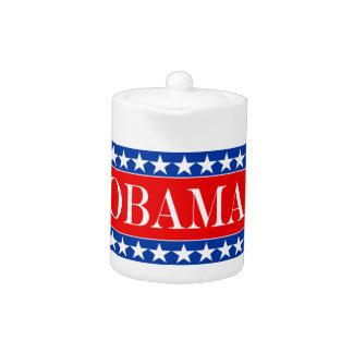 Obama Stars & Stripes Teapot