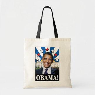 Obama Stars & Stripes Tote Bag