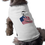 Obama Stars Wearing U.S. Flag Suit Doggie Tee Shirt