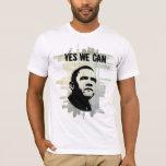 Obama STENCIL concrBgrnd T-Shirt