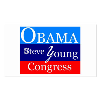 obama steve young business card