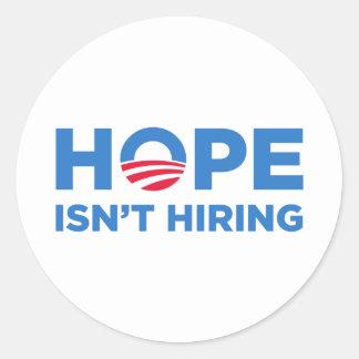 Obama Round Sticker