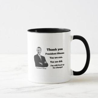 Obama Still Fired Up Thank You Mug