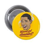 Obama Stimulus Button