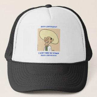 obama stinkin birth certificate need trucker hat