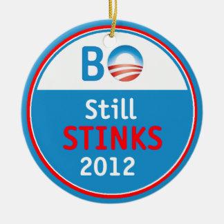 Obama Stinks Ornament