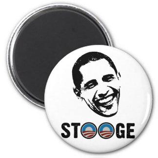 Obama = Stooge 2 Inch Round Magnet