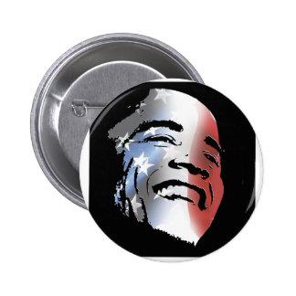 Obama StStripe 3black Buttons