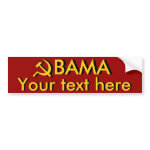 Obama Style: Create Your Own bumpersticker