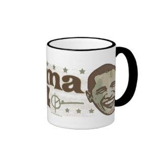 Obama Stylish President 44 Shirt Ringer Mug