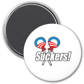 Obama Suckers Refrigerator Magnets