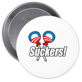 Obama Suckers! Pinback Button