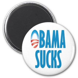 Obama Sucks 2 Inch Round Magnet