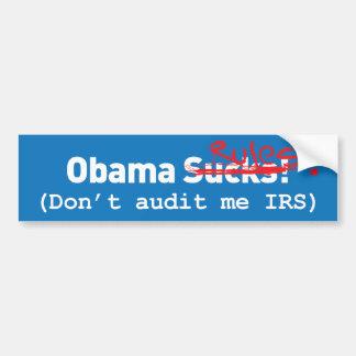 Obama Sucks! err.. Rules! Car Bumper Sticker