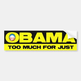 Obama Sucks Part 1 Bumper Sticker
