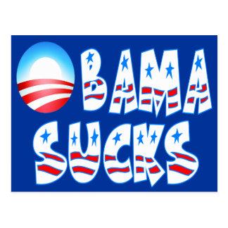 Obama Sucks Postcard