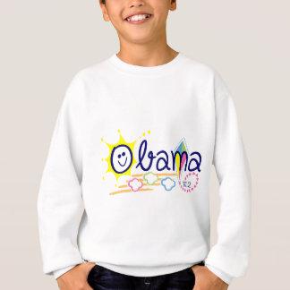 Obama sun and kite sweatshirt