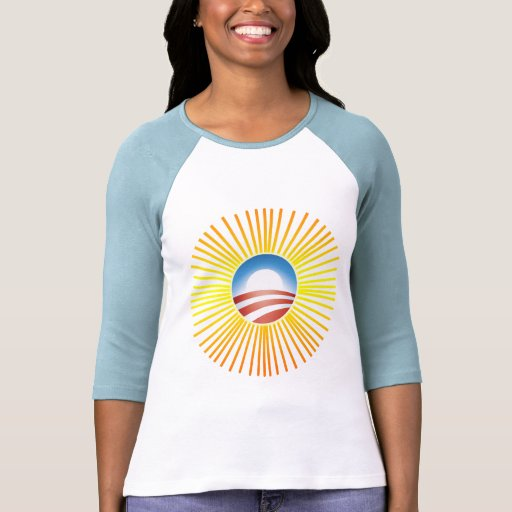 Obama Sun Design on Tshirts, Hoodies