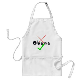 Obama Support - Cross and tick Apron