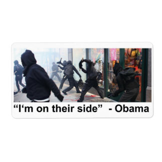 Obama Supports Occupy Rioters Label