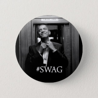 Obama Swag Pinback Button
